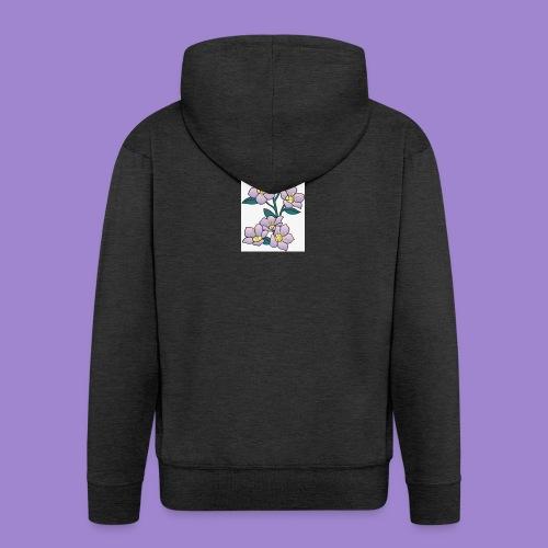 Violettes - Veste à capuche Premium Homme