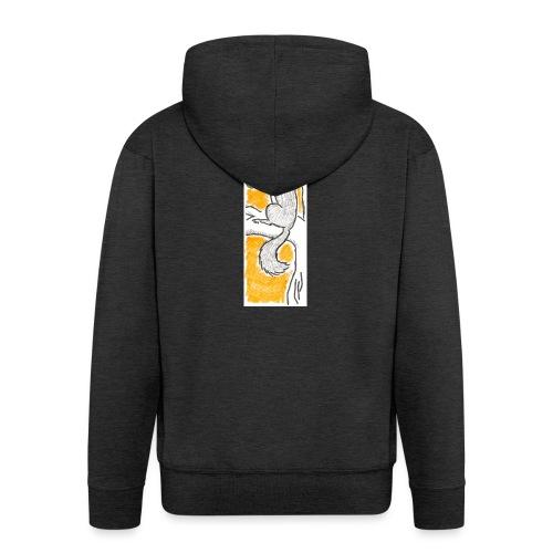 scoiattolo_alma_2015 - Felpa con zip Premium da uomo