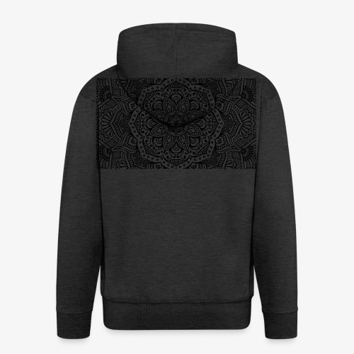 mandala1 - Men's Premium Hooded Jacket