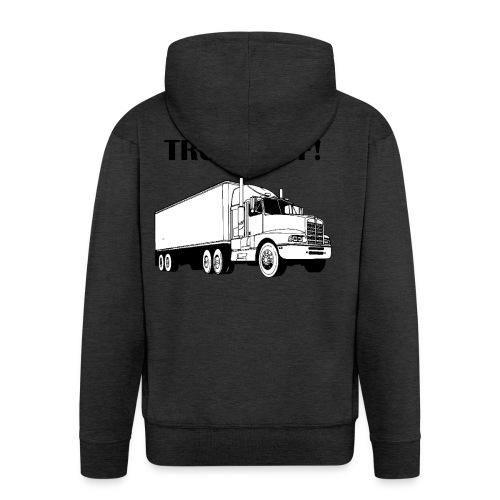 Truck off! - Men's Premium Hooded Jacket