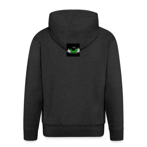 Green eye - Men's Premium Hooded Jacket