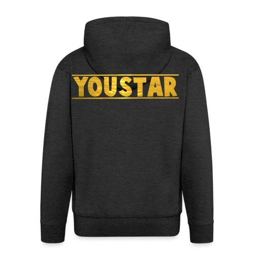 Golden Youstar Merch - Men's Premium Hooded Jacket
