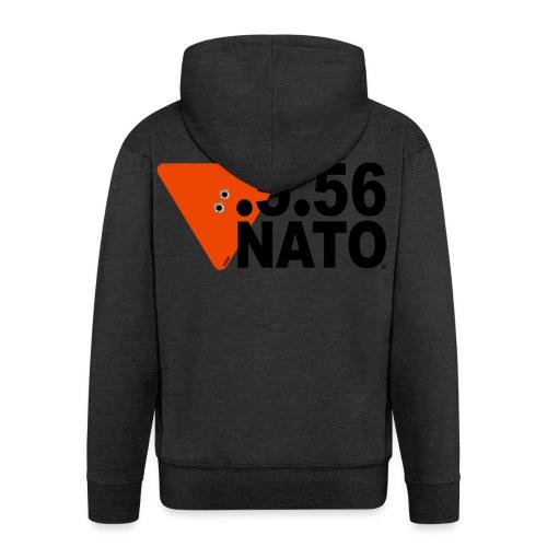 .5.56 NATO NOIR - Veste à capuche Premium Homme