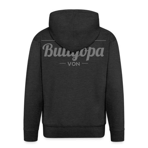 Stolzer Bullyopa Wunschname - Männer Premium Kapuzenjacke