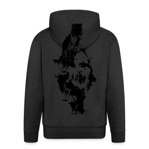Death Inside - Men's Premium Hooded Jacket