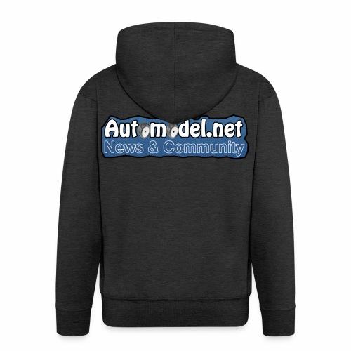 Automodel.net - Felpa con zip Premium da uomo