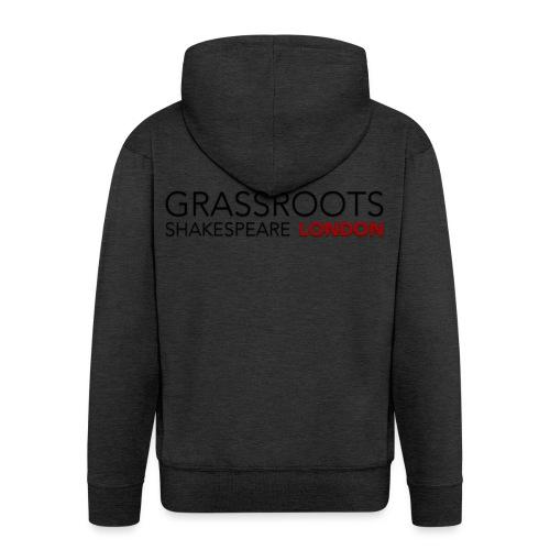 GSL NORMAL LARGE png - Men's Premium Hooded Jacket