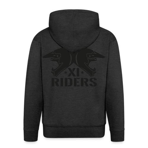 XIrider Logo schwarz png - Männer Premium Kapuzenjacke