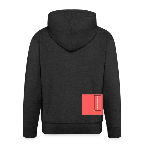 BLECRET - Salmon - Men's Premium Hooded Jacket