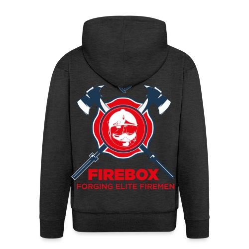 Firebox version fond clair png - Veste à capuche Premium Homme