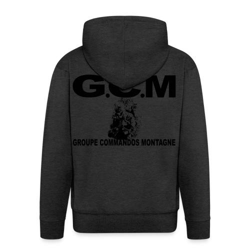 GROUPE COMMANDOS MONTAGNE 4RCh - Veste à capuche Premium Homme