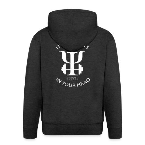 PSYfit Logo Tee - Men's Premium Hooded Jacket