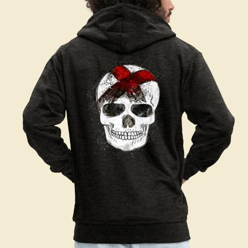 Radball | CycleBall Skull - Männer Premium Kapuzenjacke