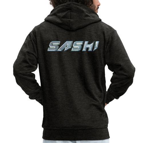 SASH! Logo 2 - Men's Premium Hooded Jacket