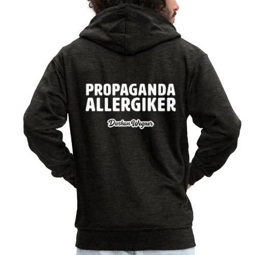 Propaganda Allergiker - Männer Premium Kapuzenjacke
