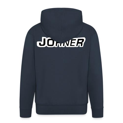 Johner-Shirt - Männer Premium Kapuzenjacke