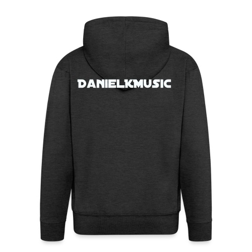 Inscription DanielKMusic - Men's Premium Hooded Jacket