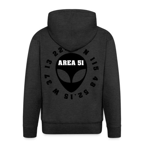 AREA51 - Chaqueta con capucha premium hombre