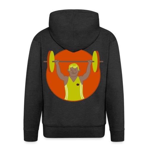 Motivation musculation - Veste à capuche Premium Homme