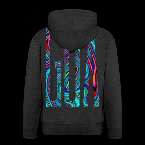 Goa Batik Style Shirt Design - Männer Premium Kapuzenjacke