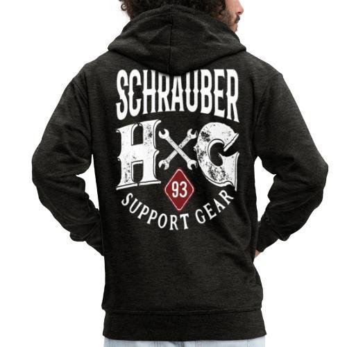 HG 93 Schrauber - Männer Premium Kapuzenjacke