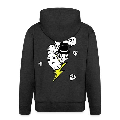 Boo! - Rozpinana bluza męska z kapturem Premium