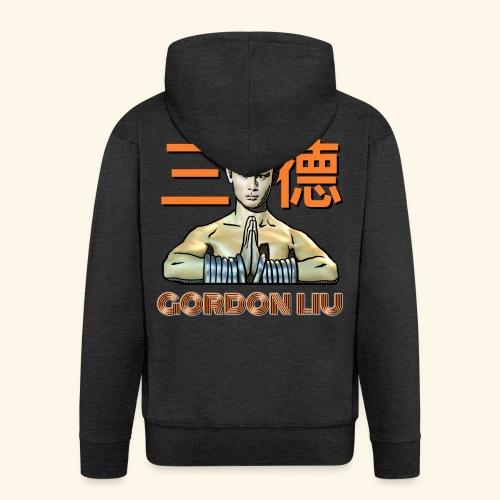 Gordon Liu - San Te Monk (Official) 6 dots - Mannenjack Premium met capuchon