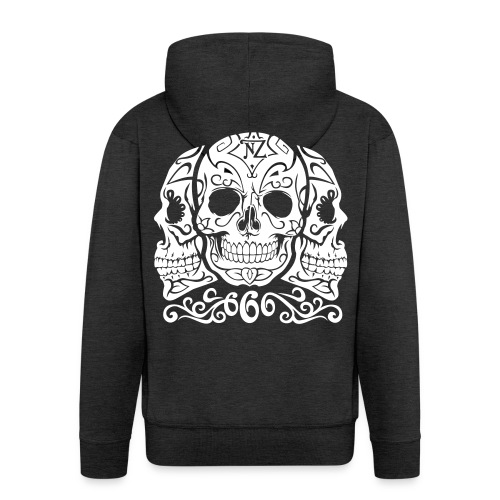 Skull Dia de los muertos - Veste à capuche Premium Homme