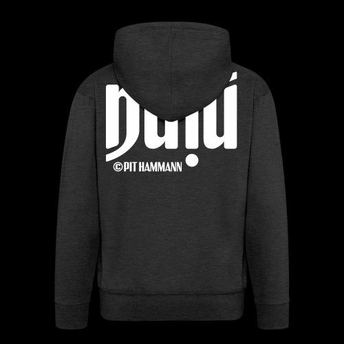 Ambigramm Nina 01 Pit Hammann - Männer Premium Kapuzenjacke