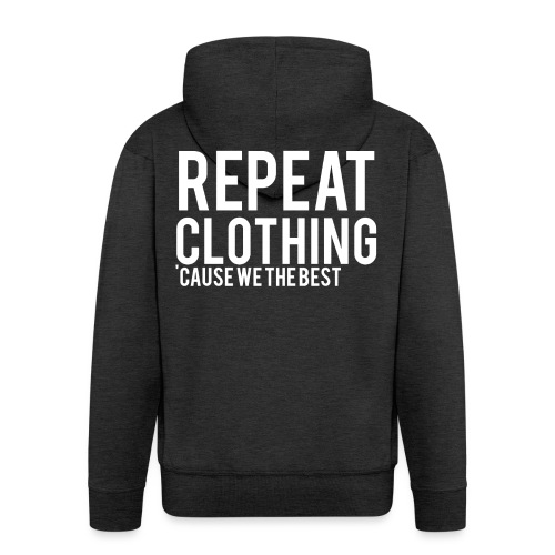 Repeat Clothing - Men's Premium Hooded Jacket