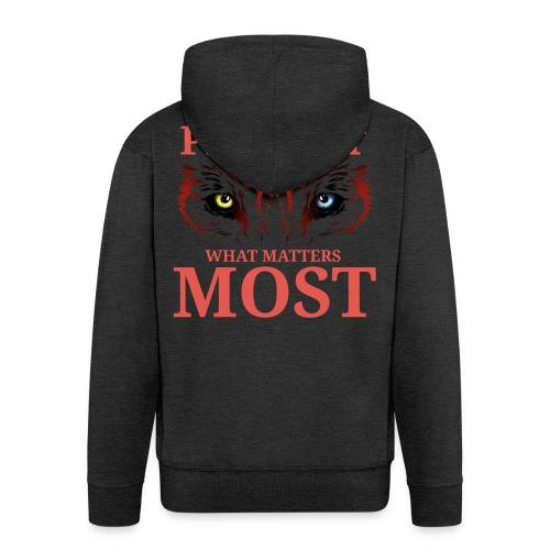 T.Finnikin Designs - Protect - Men's Premium Hooded Jacket