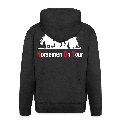 HorsemenOnTour Weste Vektor gross - Männer Premium Kapuzenjacke