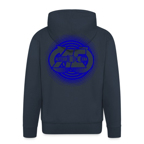 Altitude Era Circle Logo - Men's Premium Hooded Jacket