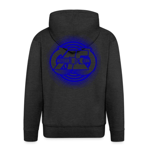 Altitude Era Circle Logo - Men's Premium Hooded Jacket