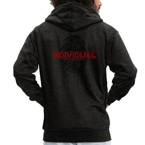 individual 2 - Männer Premium Kapuzenjacke