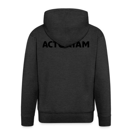 Actoriam Logo - Men's Premium Hooded Jacket