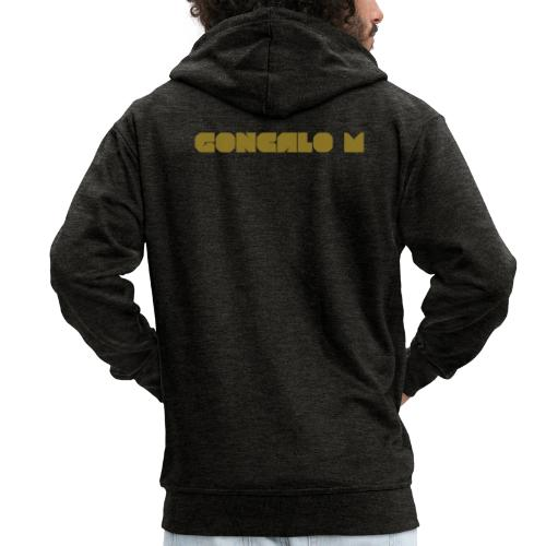 G Logo - Men's Premium Hooded Jacket