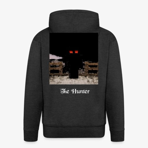 The Hunter - Felpa con zip Premium da uomo