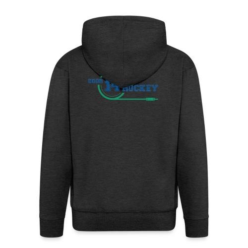 D14 HOCKEY LOGO - Men's Premium Hooded Jacket