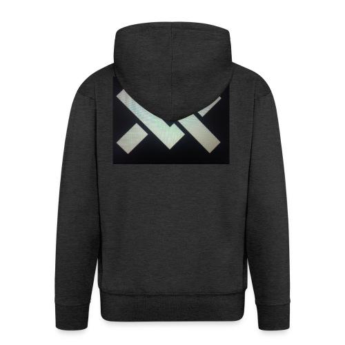 Original Movement Mens black t-shirt - Men's Premium Hooded Jacket