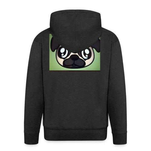 Pugly boss - Men's Premium Hooded Jacket