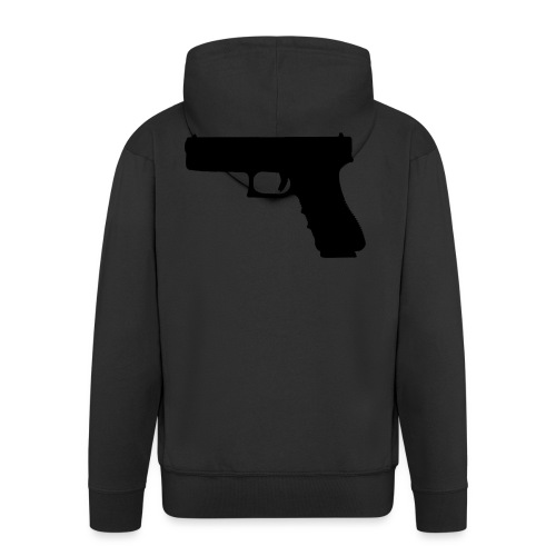 The Glock 2.0 - Men's Premium Hooded Jacket