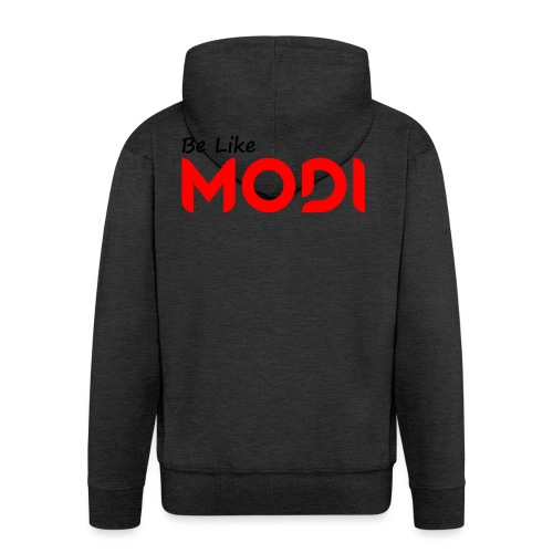 Be Like MoDi - Rozpinana bluza męska z kapturem Premium
