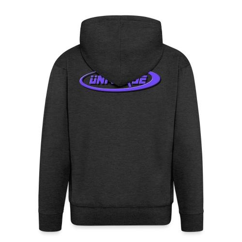 MMO-Universe - Felpa con zip Premium da uomo