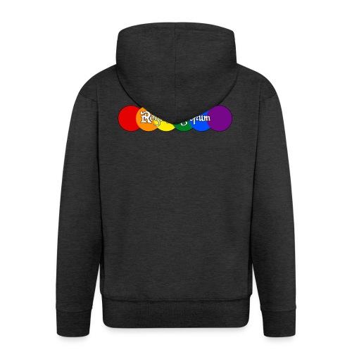 Pride Rounds - Men's Premium Hooded Jacket