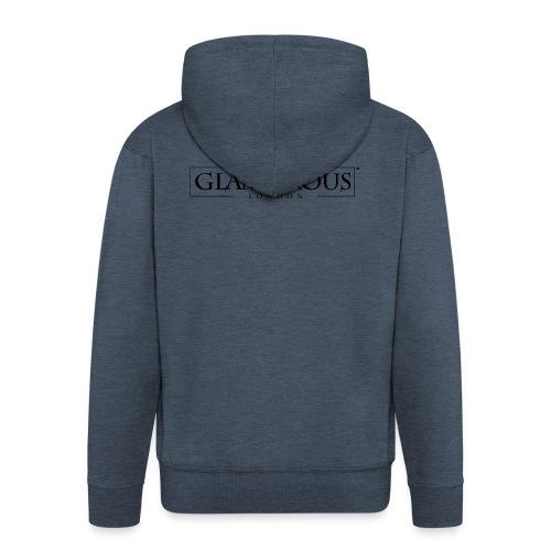 Glamorous London LOGO - Men's Premium Hooded Jacket