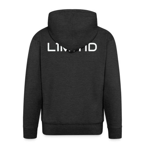 L1M1TID Official Tee - Premium Hettejakke for menn