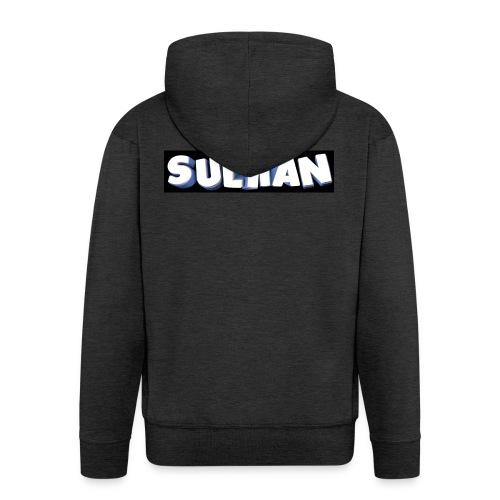 Suliian -Schrift 1 - Männer Premium Kapuzenjacke