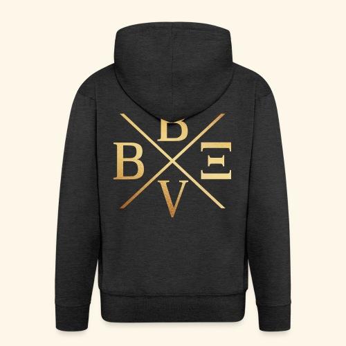 BVBE Gold X Factor - Men's Premium Hooded Jacket