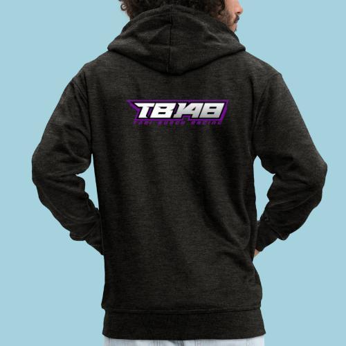 Tob Logo Lila - Männer Premium Kapuzenjacke